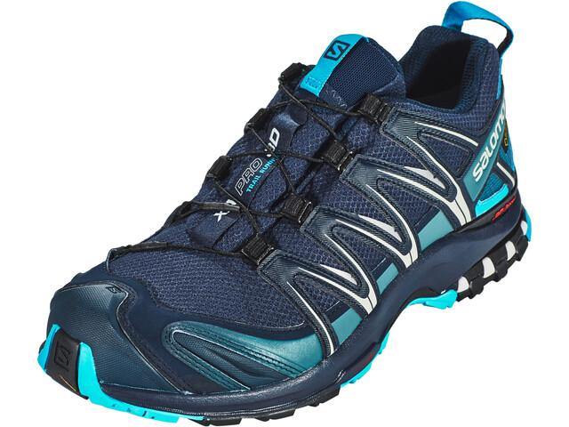 1ef9f8f9 Salomon XA Pro 3D GTX Shoes Men navy blazer/hawaiian ocean/dawn blue ...